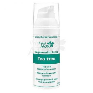 Крем для жирной проблемной кожи Чайное дерево (ORIGINAL ATOK), Чехия, 50 мл