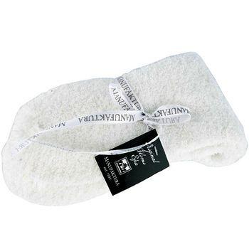 "Домашние носки ""Manufaktura"" - белые размер 36-39"