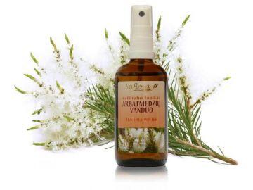 Гидролат Чайного дерева Organic для проблемной кожи (Saflora) 100 мл