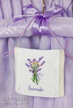 """Саше в шкаф """"Lavende"""" (ручная вышивка)"""