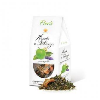 """Натуральный чай """"Яблоко и Лаванда"""" 40 гр"""
